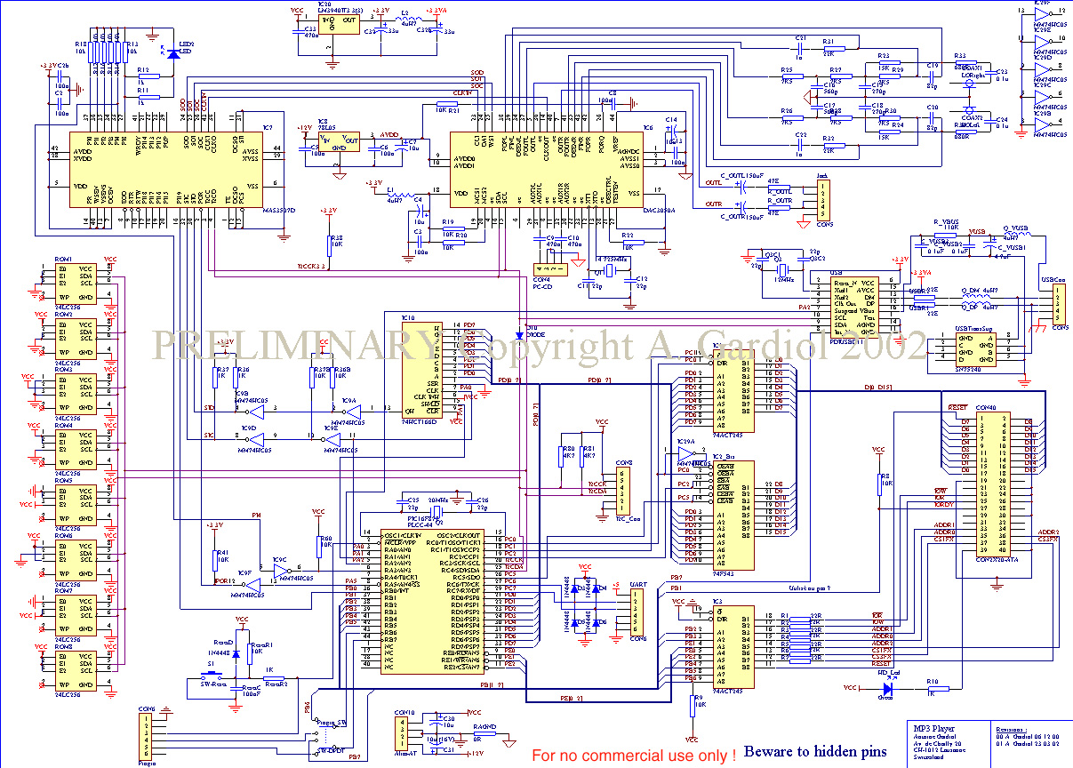 Iset Labos Electronique J Lepot Touch Ultra Data Cable Wiring Diagram Free Download Diagrams Mp3 Player
